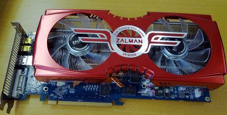 Видеокарта HD 7950 с кулером VF3000 от Zalman