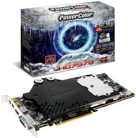 Видеокарта PowerColor LCS HD 7970