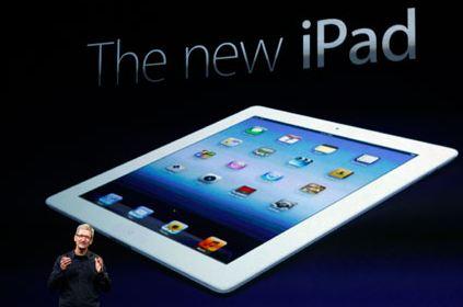 Официально представлен новый Apple iPad