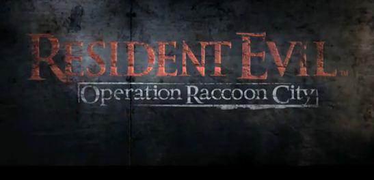 Вышла игра Resident Evil: Operation Raccoon City