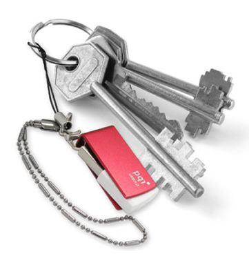 PQI U822V на связке ключей