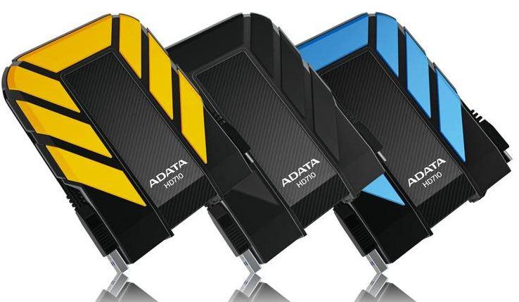 Внешние жесткие диски ADATA DashDrive Durable HD710