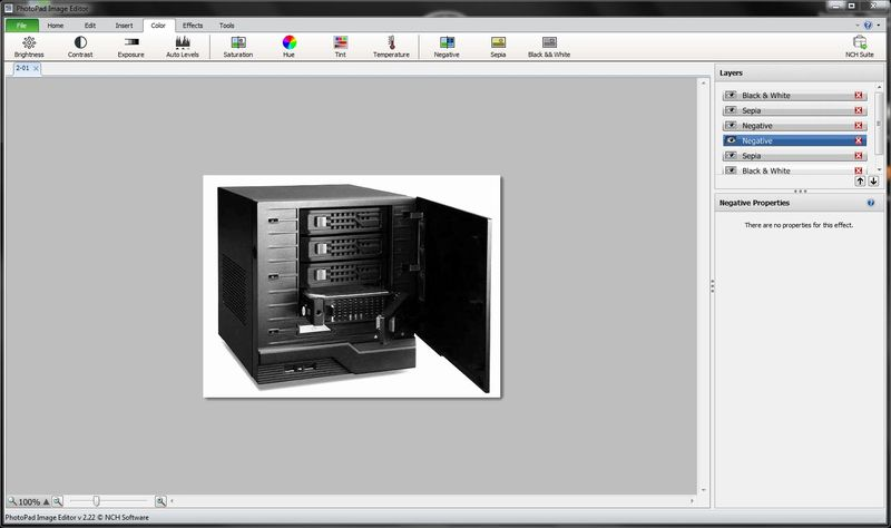 Программа PhotoPad Image Editor
