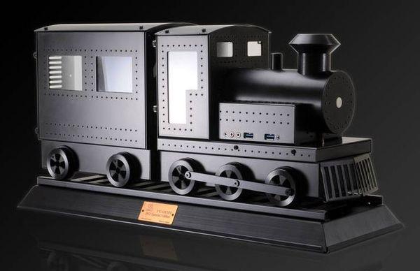 Корпус-паровоз от Lian Li