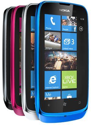 Смартфон Lumia 610
