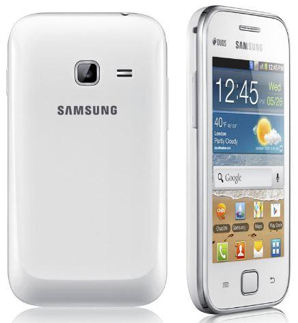 Смартфон Galaxy Ace DUOS от Samsung