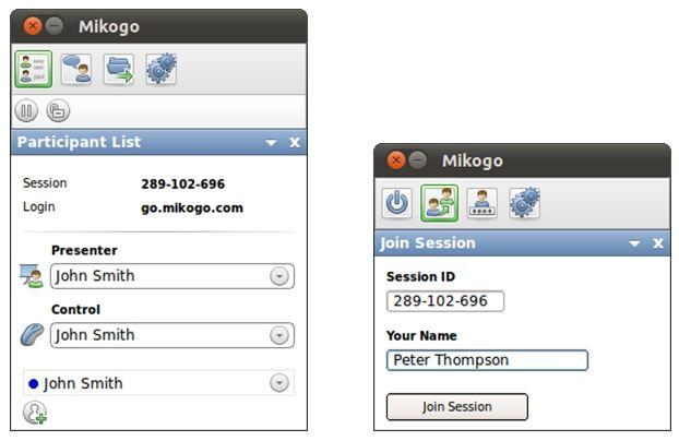 Вышла версия приложения Mikogo 4.5 для Linux