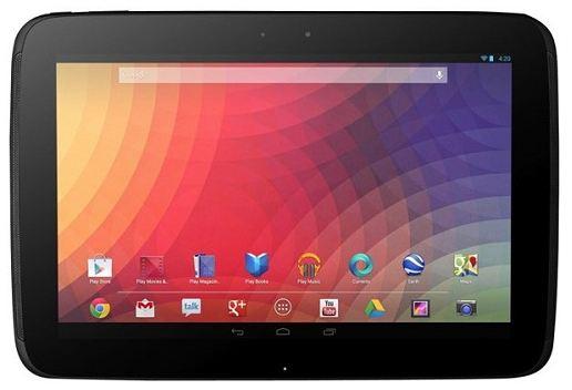 Планшет Google Nexus 10