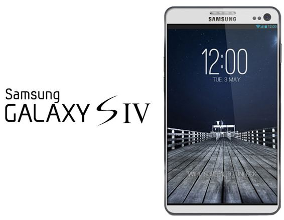 Разработка нового флагмана Galaxy S IV уже началась