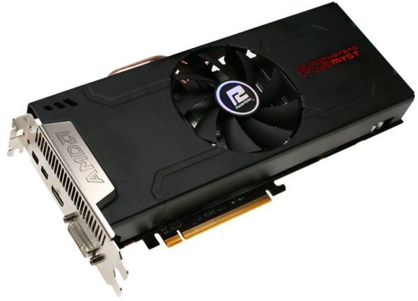PowerColor анонсируют видеокарту PCS+ HD7870 Myst