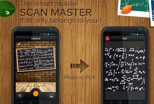 Приложение Scan Master
