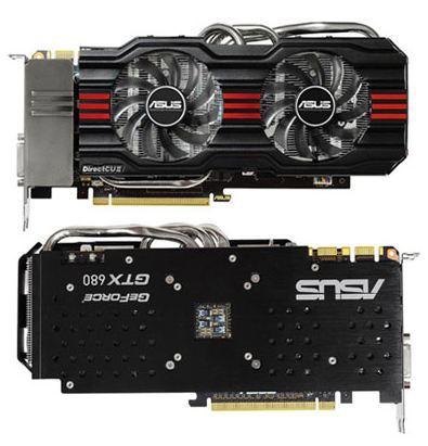 Новая видеокарта Asus GTX 680 DirectCU II 4 Гб