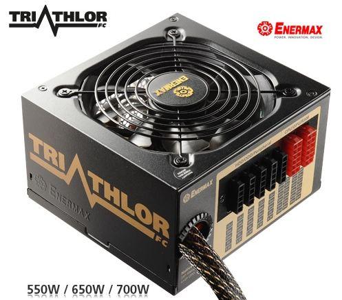 Enermax анонсировали серию блоков питания Triathlor FC