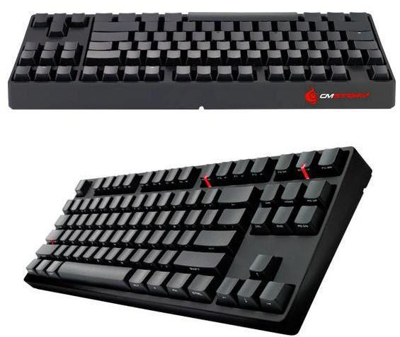 Cooler Master представили новую клавиатуру Storm QuickFire Stealth