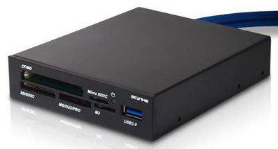 Scythe представили новый док SCKMRD3 для чтения карт памяти