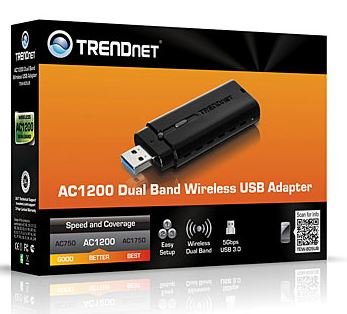 TRENDnet выпустили беспроводной адаптер TEW-805UB с интерфейсом USB 3.0