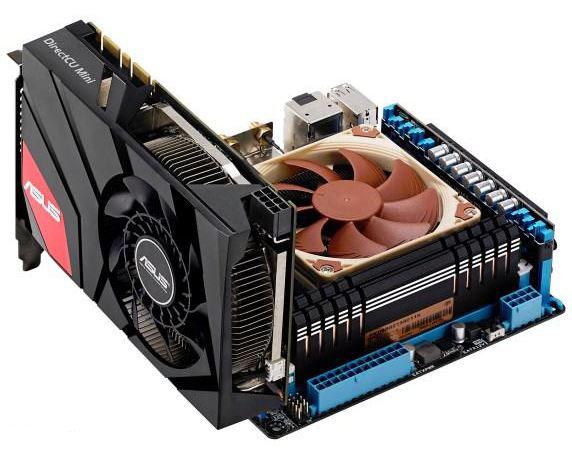 Видеокарта Asus GeForce GTX 670 DirectCU Mini