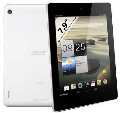 Acer Iconia A1-810: 4 ядра плюс 7,9 дюйма равно 200 евро