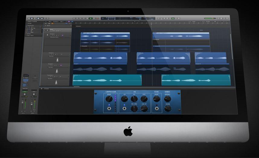 Компания Apple представили обновленную программу Logic Pro X