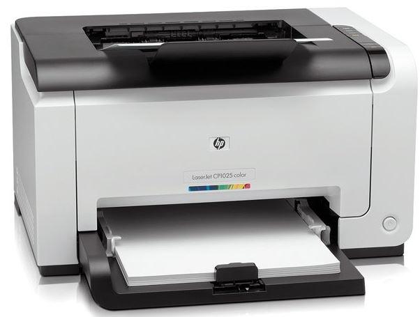 Экономичный принтер HP LaserJet Pro CP1025nw