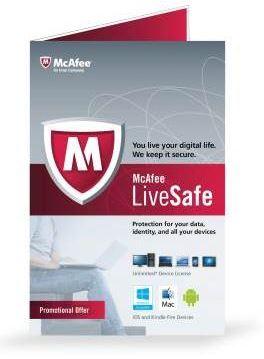Новый сервис LiveSafe от McAfee доступен для покупки