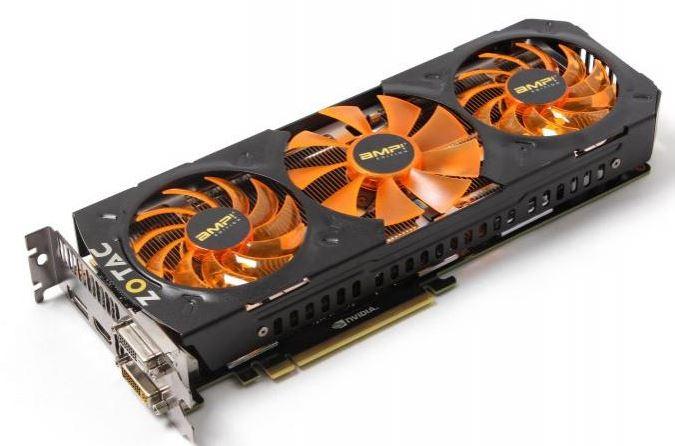 Компания Zotac выпустила топовую видеокарту GeForce GTX 780 Ti AMP! Edition
