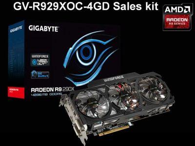 В Сети появилась фотография видеокарты WindForce X3 Radeon R9 290X от Gigabyte