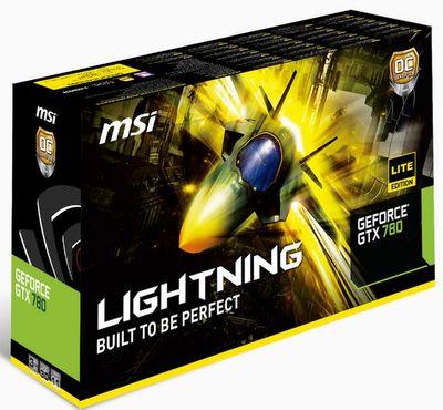 MSI выложили фото GTX 780 Lightning Lite Edition и обнародовали спецификации видеокарты