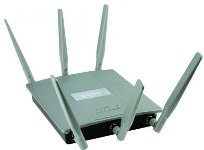 Новая 2-х диапазонная точка доступа D-Link Wireless AC1750