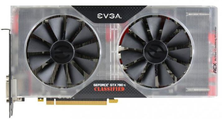 EVGA представили видеокарту GeForce GTX 780 Ti Classified K|NGP|N Edition