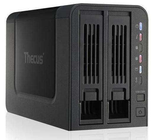 Thecus N2310: Компактное сетевое хранилище данных с низким энергопотреблением