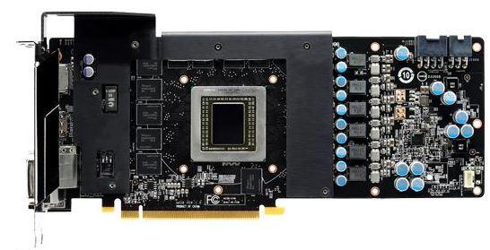 Фотографии печатной платы MSI Radeon R9 290 и характеристики