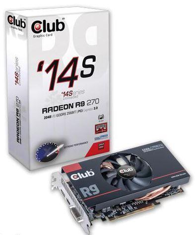 Новые видеокарты '14Series от Club 3D