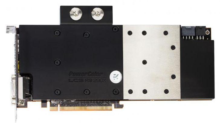 PowerColor представили видеокарту Radeon R9 290X с водоблоком