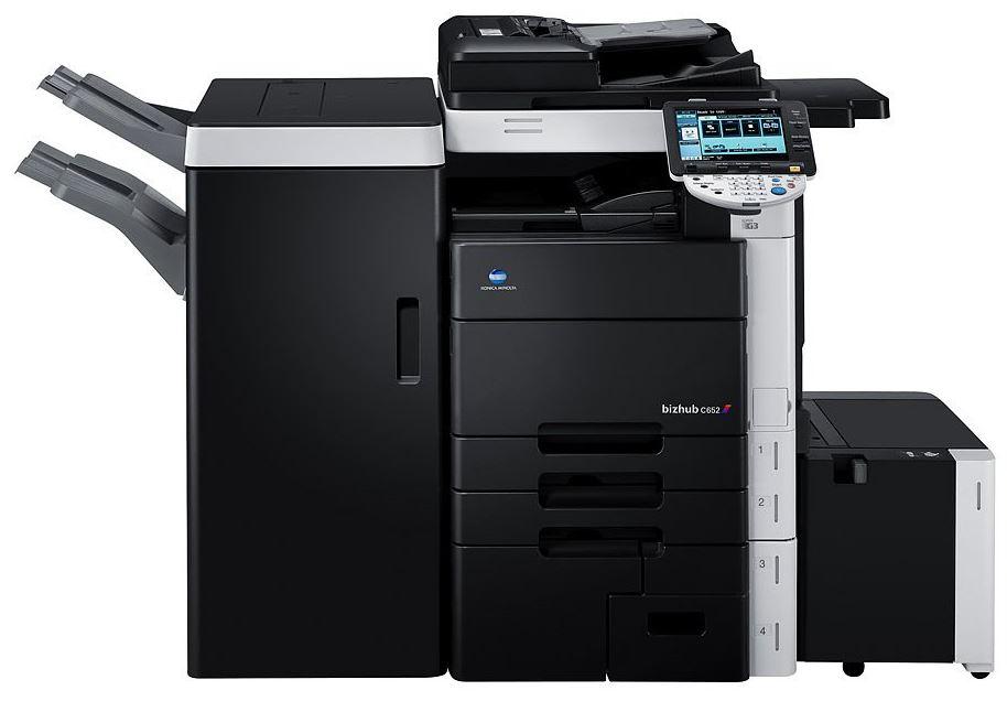Настоящий печатный станок для большого офиса - Develop ineo+ 552
