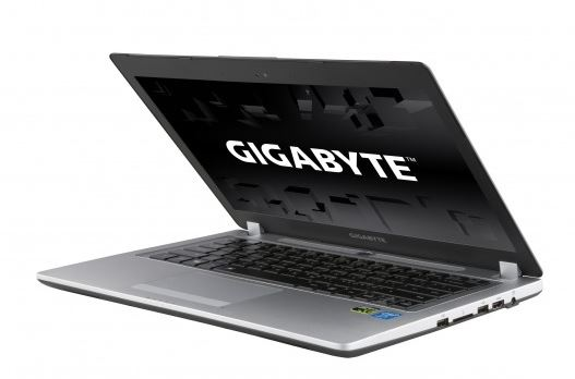 Gigabyte представили на отечественном рынке ноутбук Ultrablade P34G