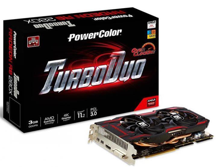 PowerColor представили свой новый продукт - видеокарту Radeon R9 280X TurboDuo OC