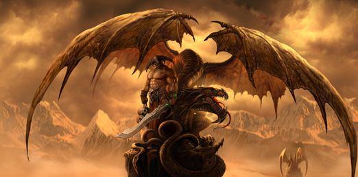 Онлайн игра Драконы