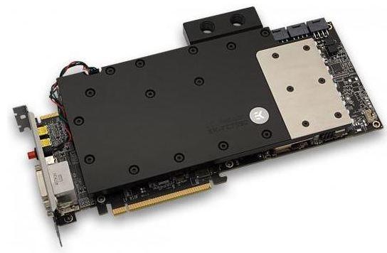 Новый водоблок для видеокарты Radeon HD 7990