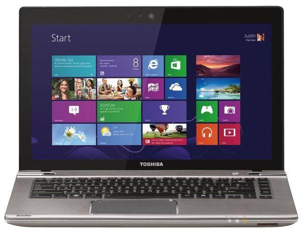 Компания представила ноутбук Satellite P845t-10Z с тачскрином
