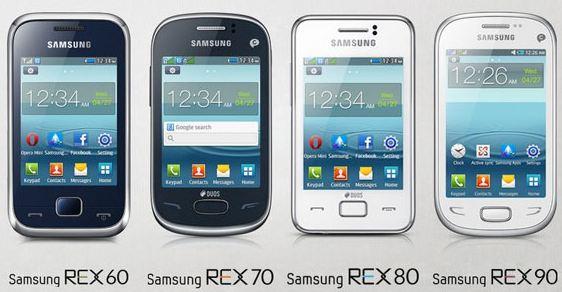 Samsung объявил о выпуске новой бюджетной серии телефонов Rex