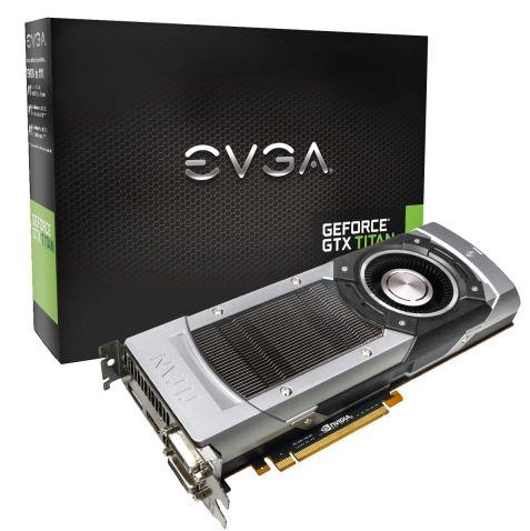 EVGA представили сразу пять своих моделей GeForce GTX TITAN