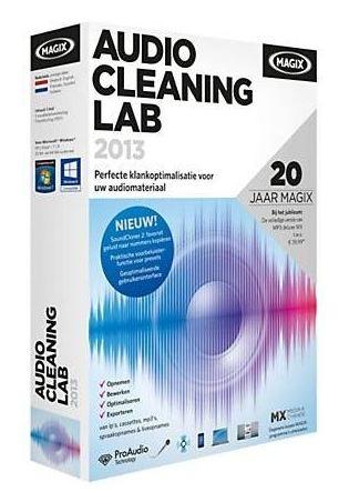 Приложение MAGIX Audio Cleaning Lab 2013