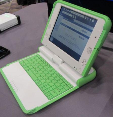 OLPC представили детский планшет XO-4 на выставке CES 2013