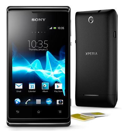 Cмартфон Xperia E dual от Sony пришел в Россию