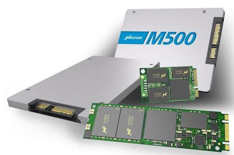 Компания представила SSD Crucial M500