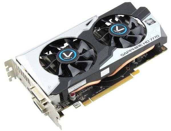 Sapphire представили одну видеокарту Radeon HD 7770