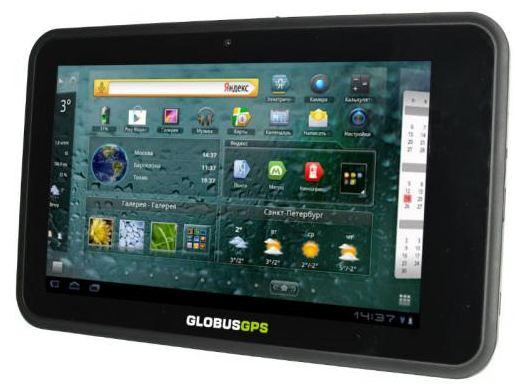 Планшет-навигатор GlobusGPS GL-700 Android