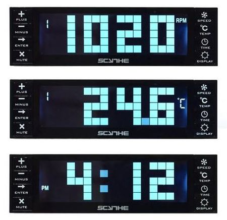 Контроллер вентиляторов Kaze Chrono от Scythe