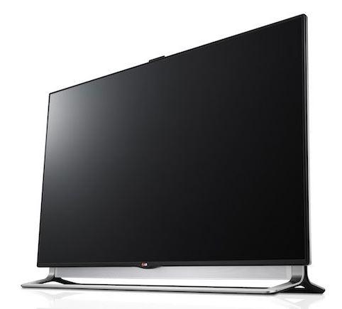 Компания LG представили телевизоры LA9700 с разрешением Ultra HD